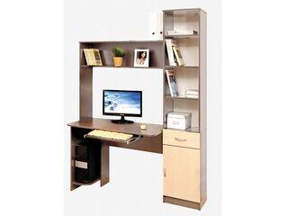 Компьютерный стол Интел-2 Ясень шимо темный-Ясень шимо светлый