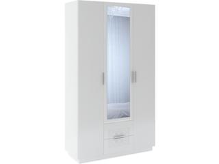 Шкаф 3-х дверный с ящиками Тиффани М29