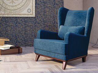 Кресло для отдыха Оскар арт. ТК-314 темно-синий сапфировый